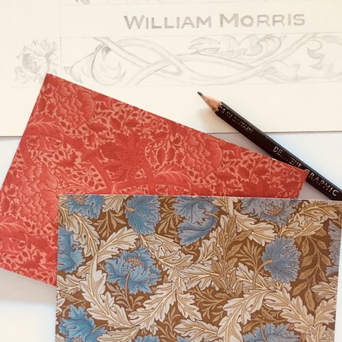 William Morris Inspired Botanical Drawing