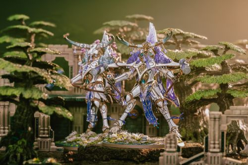 Showcase: Lumineth Realm-Lords Avalenor - The Stone Heart King of Ymetrica