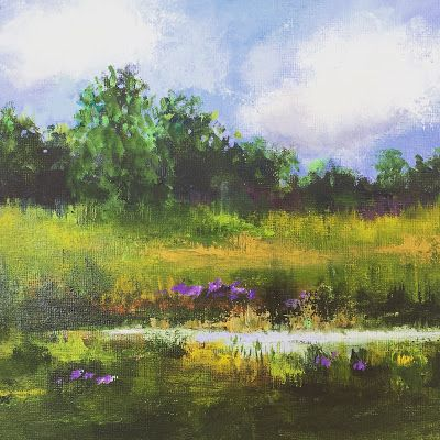 Up North, Contemporary Landscape Paintings by Amy Whitehouse