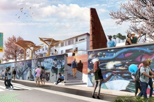 Perkins + Will Design Mile-Long Outdoor Museum for Los Angeles