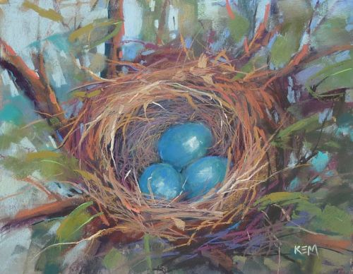 New Video Demo Release: Explore Mark Making with a Nest Painting