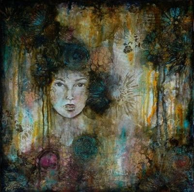 """Beauty in the Brokenness"", Original Mixed Media Painting by Colorado Artist, Donna L. Martin"