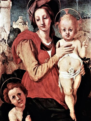 Madonna attributed to Jacopo Pontormo