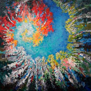 """New """"Sparking the Imagination"""" by Palette Knife Artist Niki Gulley"""
