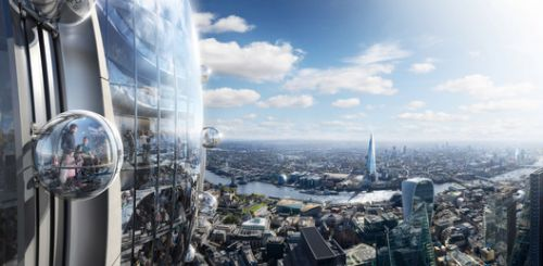 Foster + Partners Plan a Tulip-Shaped Tower for Central London