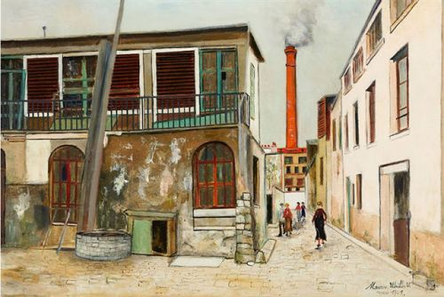 Maurice Utrillo, the painter of Montmarte