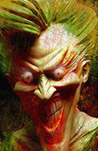 """THE JOKER"", tribute to Dave McKean"