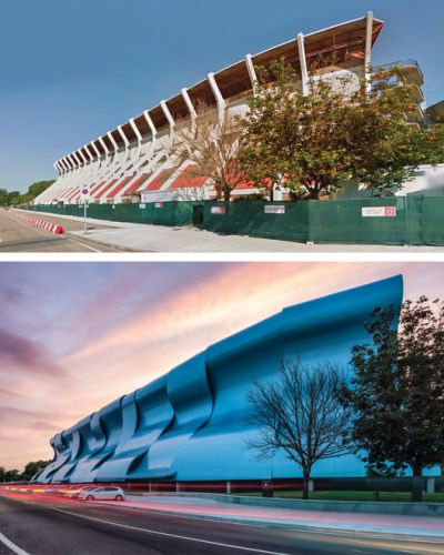 Aesthetic and Energetic Rehabilitation of 6 Buildings Using Composite Panels