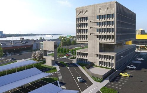 Marcel Breuer's Iconic Brutalist Building is being Transformed into an Eco-friendly Boutique Hotel