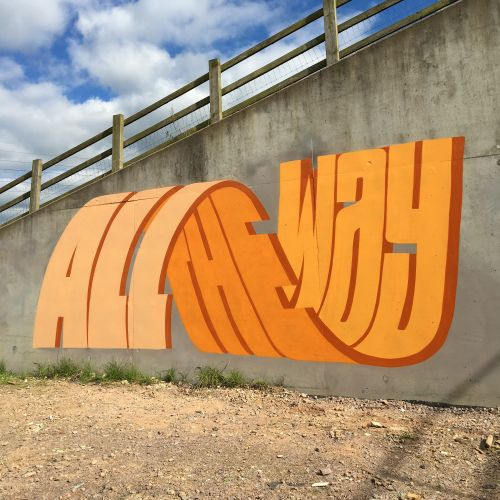 Multi-Layered Lettering Challenges the Aesthetics of Graffiti in New Works by Pref