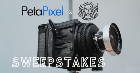 Giveaway: Win Over $2,900 Worth of Dora Goodman 3D-Printed Cameras