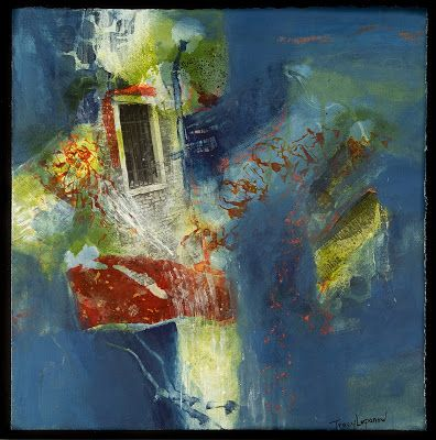 Mixed Media Collage, Abstract Painting, Contemporary Art for Sale