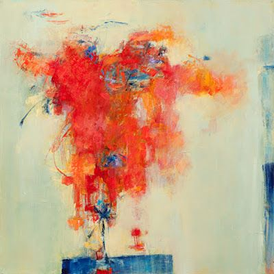 """Contemporary Art, Abstract Art Painting, Expressionism, Art for Sale, """"The Promise"""" by Abstract Artist Lela Kay"""