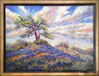 "New ""Under the Old Oak Tree"" Texas Hill Country Painting by Niki Gulley"