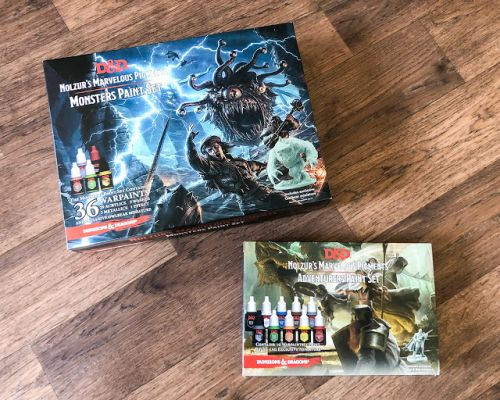 Review: The Army Painter Dungeons & Dragons Paint Sets