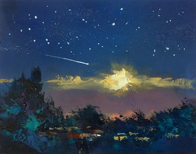 NOCTURNE, SHOOTING STAR by TOM BROWN