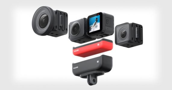 Insta360 Unveils the One R Modular Action Cam 'Co-Engineered' with Leica