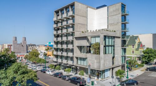 The Continental Apartments / Jonathan Segal Architect