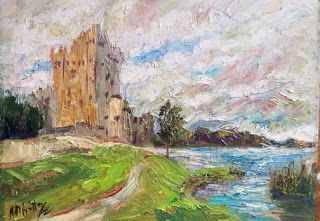"""Ross Castle"" from Killarney, Ireland by Niki Gulley"