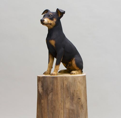 Sculptural Carvings of Mankind's Best Friend by Gerard Mas
