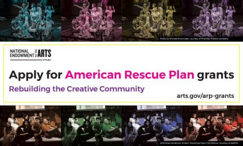 NEA Offers Relief Funds to Help Arts and Culture Sector Recover from Pandemic