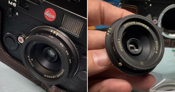 Omnar Makes its First Camera Lens From Repurposed Canon AF-10 Parts