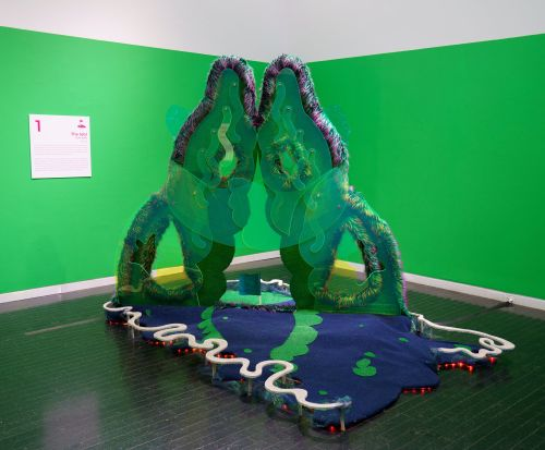 Putt Around the Playable Artworks of 'Par Excellence Redux: The Back 9,' Now Open at Elmhurst Art Museum