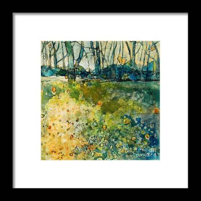 "Fine Art Print , Contemporary Abstract Landscape, ""Play Time"" by Passionate Purposeful Painter Holly Hunter Berry"