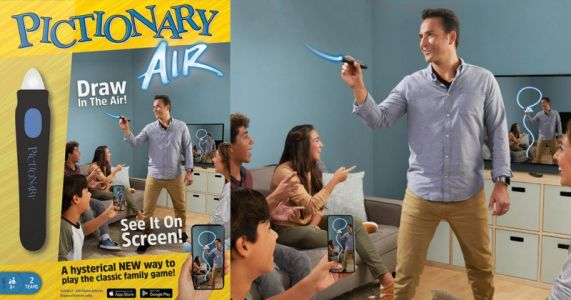 Pictionary Air is Light-Painting Turned Into a Game
