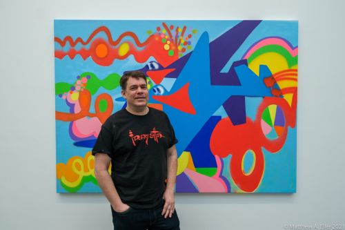 "Coverage & Interview - Todd James ""Garden of Eden"" at Ross + Kramer Gallery NYC"