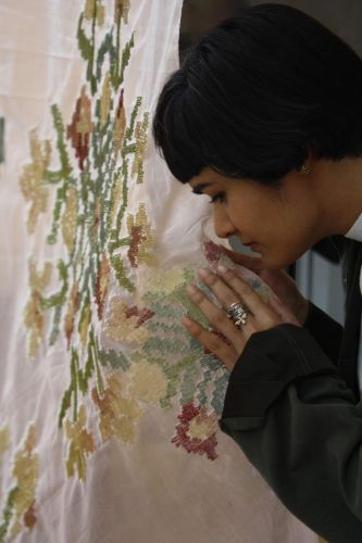 Thread Infused with Scent Embellishes Embroidered and Woven Textiles to Stimulate Memories