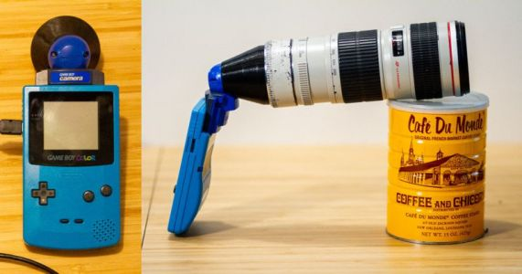 This Guy Gave His Game Boy Camera a Canon EF Lens Mount
