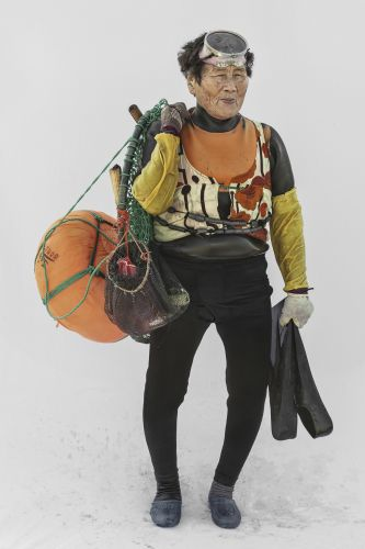 The Breathless Grit and Determination of South Korea's Iconic Female Divers Are Captured in Life-Size Portraits by Hyung S. Kim