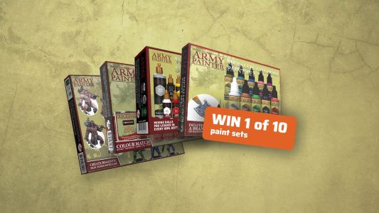 Giveaway: 10 years 10 paint sets