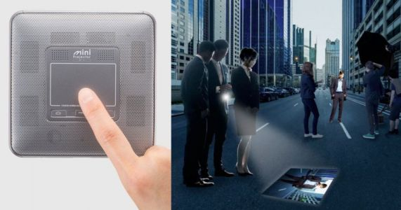 Canon's M-i1 Mini Projector Can Beam Your Camera's Photos Wirelessly