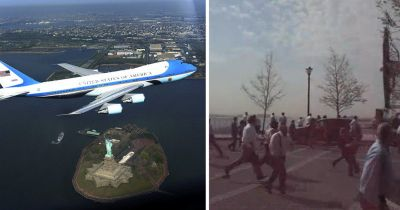 The 2009 Air Force One Photo Op That Caused Panic in New York City