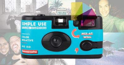 Lomography Revives the Disposable Film Camera with 'Simple Use' Cam