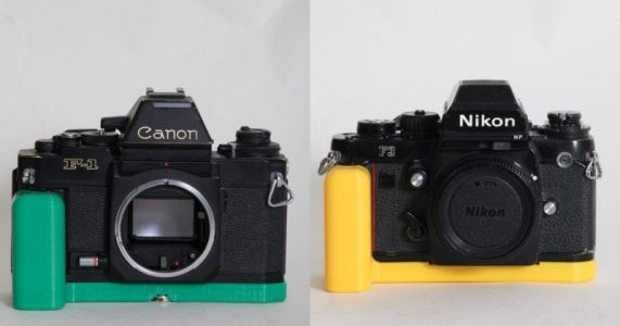 BUTTER GRIP Offers 3D-Printed Grips for Classic Film Cameras