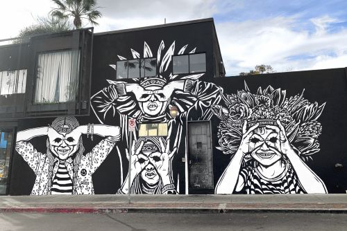 Pilpeled in Venice Beach, Los Angeles