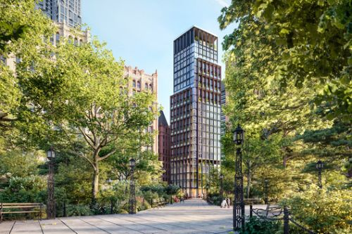 Sir Richard Rogers'First Residential Project in New York City Nears Completion