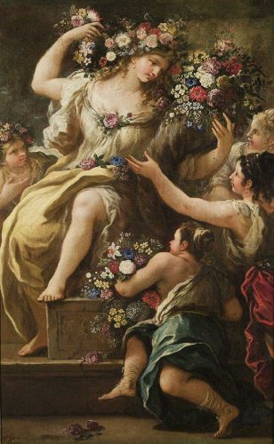 1697 Personification of Flora, Goddess of Flowers