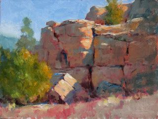 Paintout with Plein Air New Mexico