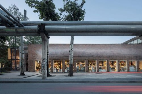 Bookstore in 798 Art Zone / 3andwich Design / He Wei Studio