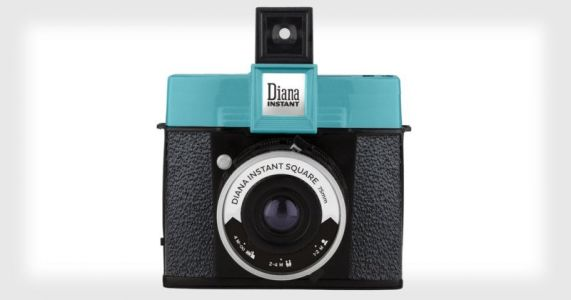 Diana Instant Square: The First Instax Camera with Swappable Lenses and a Hot Shoe
