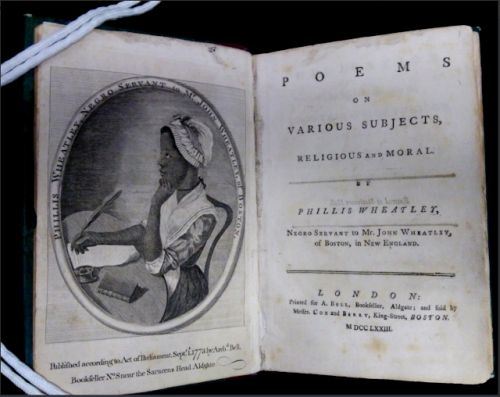 Phillis Wheatley's birthday?