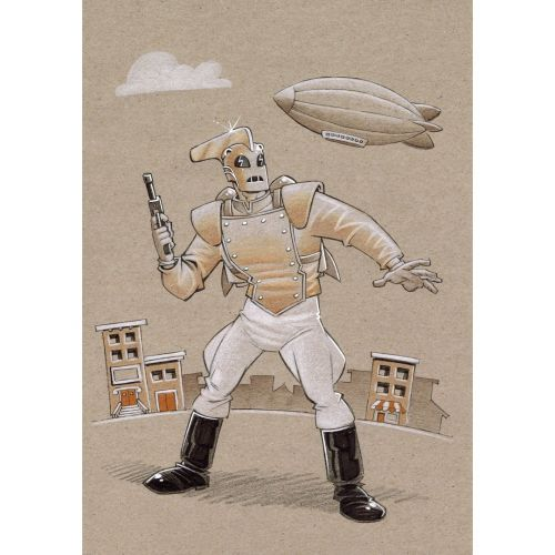 An old Rocketeer commission