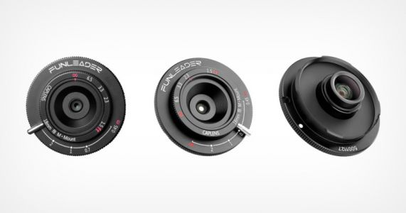 Funleader Launches M-Mount Version of its 18mm f/8 Cap Lens