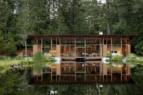 Newberg Residence / Cutler Anderson Architects