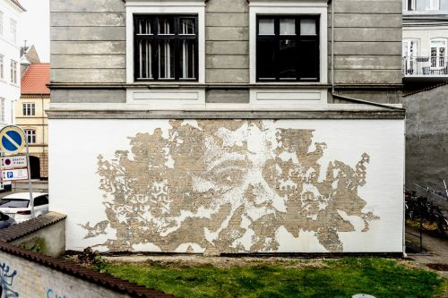 Vhils' scratches the surface of Denmark