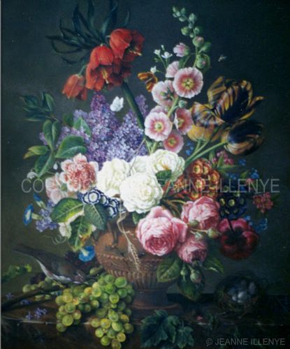 Eternal Spring large classical still life oil painting